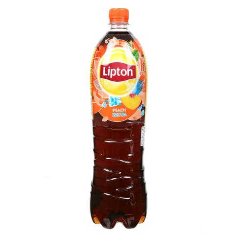 Jäätee virsikumaitseline Lipton 1,5l