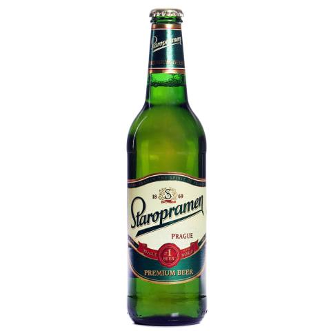 Alus Staropramen Premium gaišais 5% 0,5l