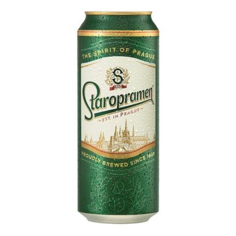 Alus Staropramen premium 5% 0.5l can