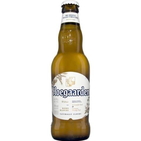Kvietinis alus HOEGAARDEN, 4,9 %, 0,33 l