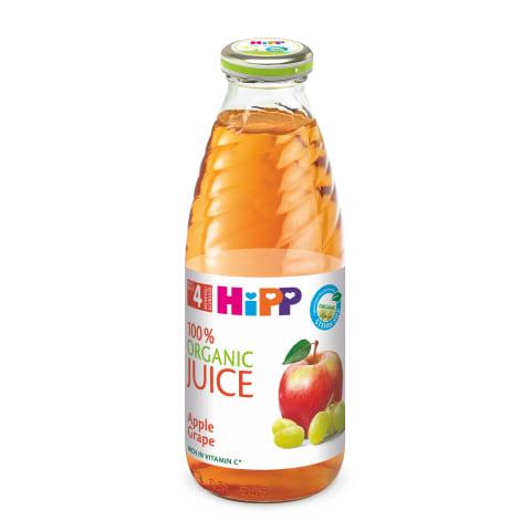 Ek.obuol.vynuogių sultys HIPP,4mėn,500ml