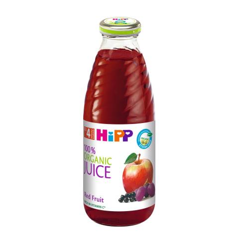 Ek.raudon.vaisių sultys HIPP,4mėn,500ml