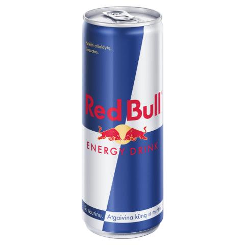 Gaivusis energinis gėrimas RED BULL, 250ml