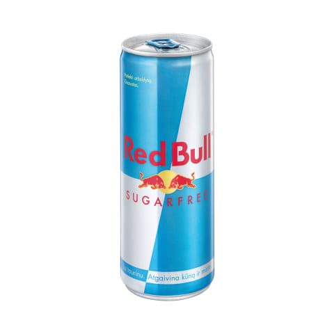 Energinis gėrimas RED BULL Sugarfree, 250ml