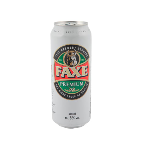 Alus FAXE Premium, 5 %, 0,5 l