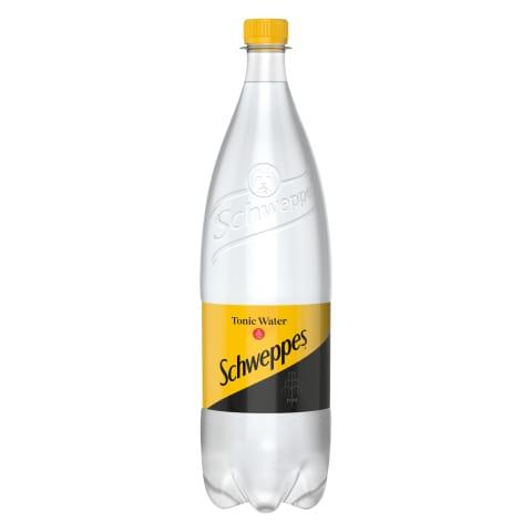 Gazuotas gaiv. gėrimas, SCHWEPPES TONIC, 1,5l