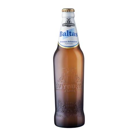 Kviet.alus ŠVYTURYS Baltas, 5 %, 0,5 l
