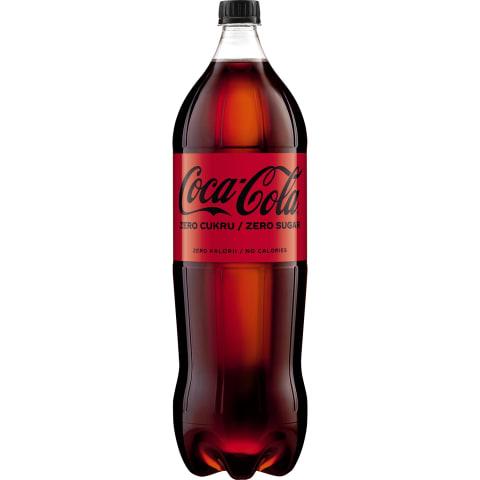 Gāzēts dzēriens Coca-Cola zero 2l