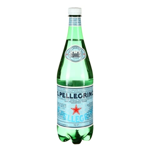 Gazuotas mineralinis vanduo S.PELLEGRINO, 1l