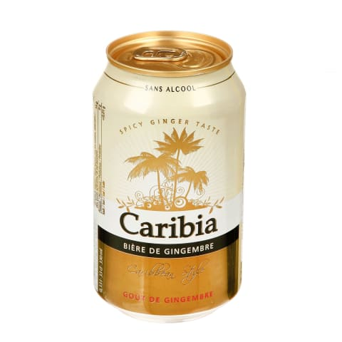 Imbier.sk.gėr.CARIBIA GINGER BEER, 0,33 l