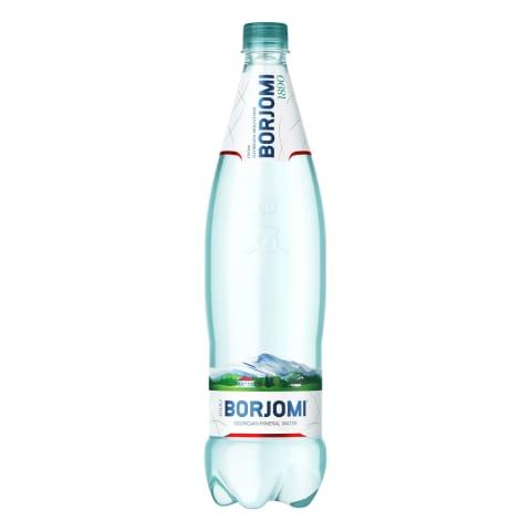 Gāzēts dabīgais minerālūdens Borjomi 1l