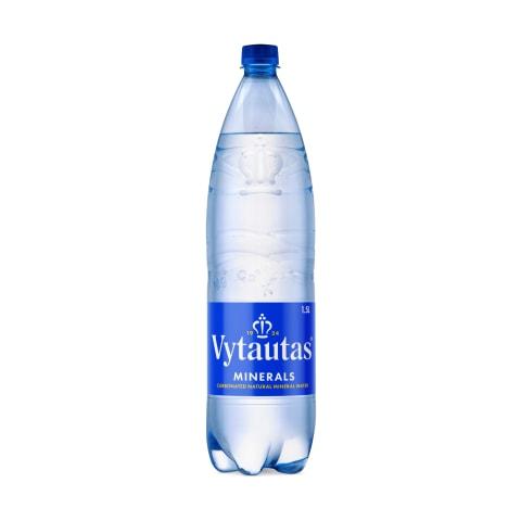 Gazuotas mineralinis vanduo VYTAUTAS, 1,5l