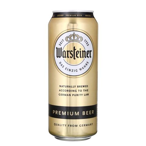 Alus WARSTEINER PREMIUM, 4,8 %, 0,5 l