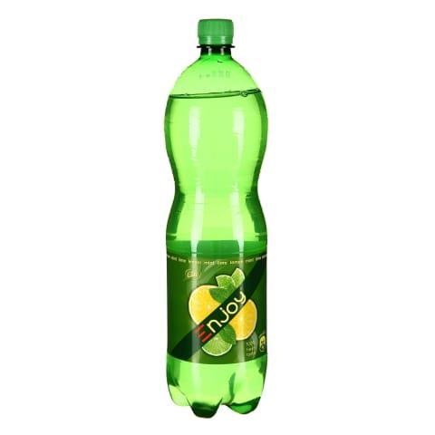 Gāz. dzēr. Enjoy citrons laims piparm. 1.5l