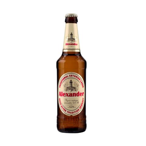 Õlu Alexander 5,2%vol 0,5l pdl