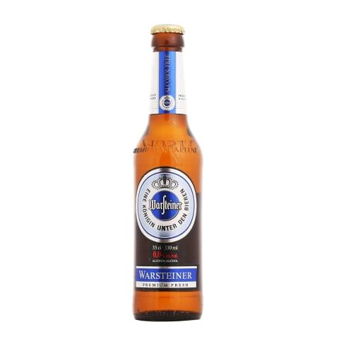 Alkoholivaba õlu Warsteiner 0,33l pdl