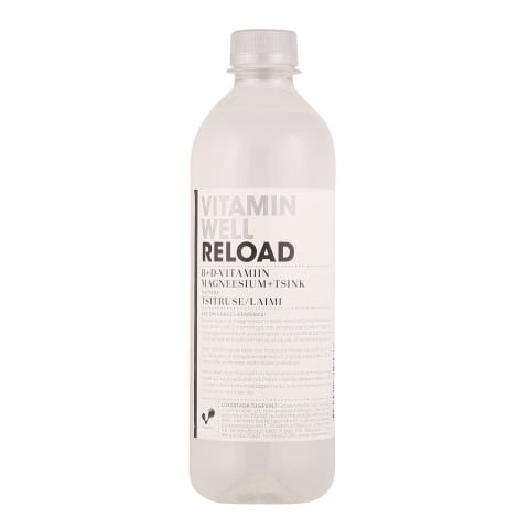 Jook Reload tsitruse/laimi Vitamin Well 50cl