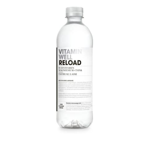 Ūdens Vitamin Well Reload 0,5l