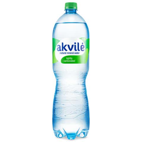 Dabīgs minerālūdens Akvile 1,5l gāzēts