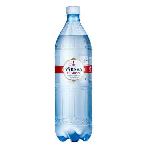 Mineraalvesi  Värska  Originaal 1l