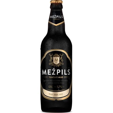 Alus Mežpils tumšais 5,7% 0,5l