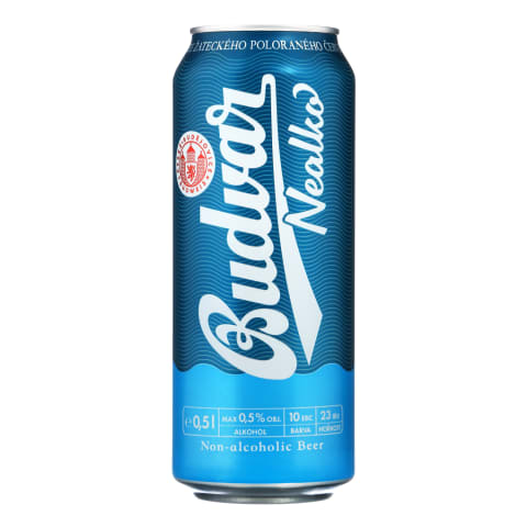 Nealkoholinis alus BUDWEISER BUDVAR, 0,5 l