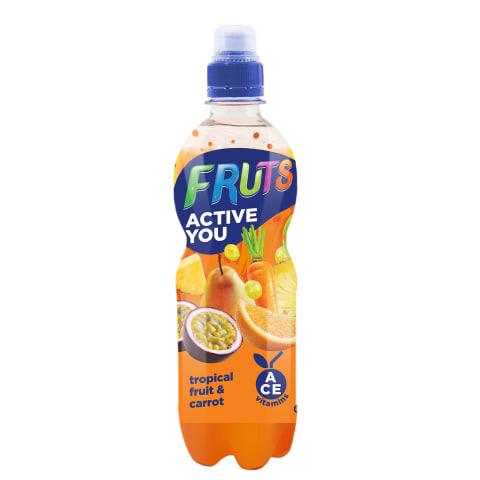 Dzēriens Fruts burkānu, tropu augļu 0,5l