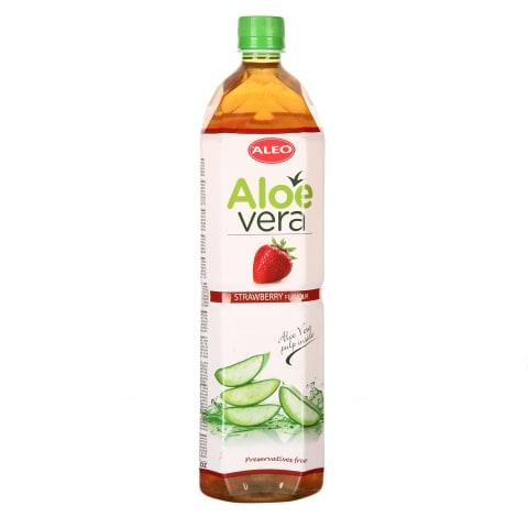 Aloe dzēriens aleo ar zemeņu garšu 1,5 l