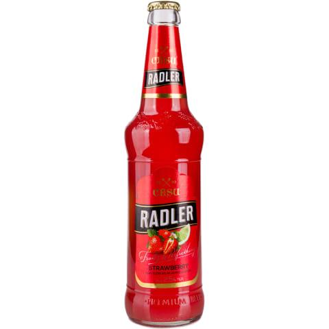 Alus Cēsu Radler zemeņu 2,5% 0,5l