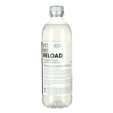 Vitamin. gėrimas VITAMIN WELL RELOAD, 500ml