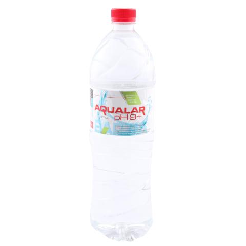 Mineralūdens Aqualar ph9+ negāzēts 1,5l