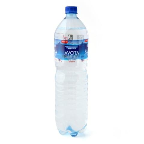 Gazuotas šaltinio vanduo RIMI, 1,5l