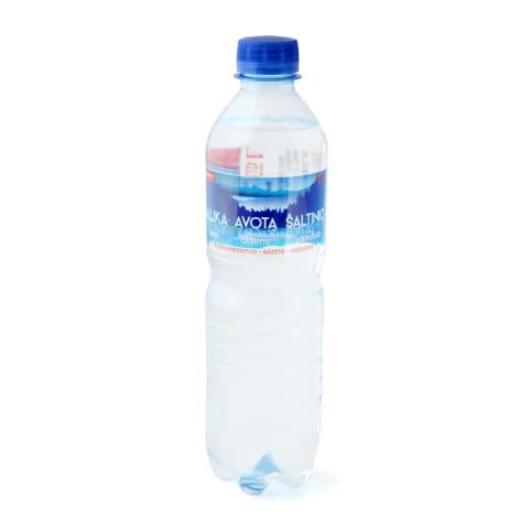 Avota ūdens Rimi gāzēts 0,5l