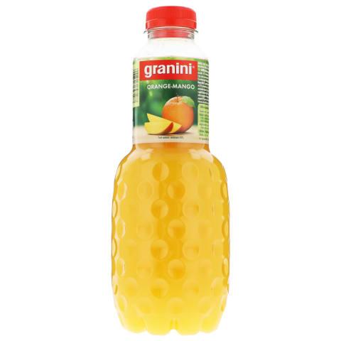 Mangų ir apelsinų nektaras GRANINI, 1l