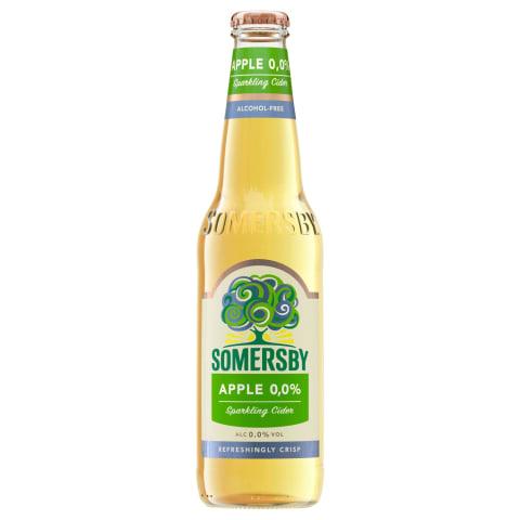 Sidrs Somersby ābolu bezalkoholisks 0,33l