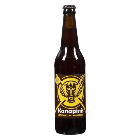 Nefiltr.tams.alus KANAPINIS, 5,3 %, 0,5 l