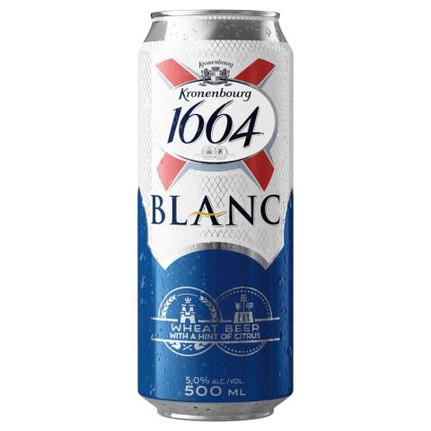 Alus KRONENBOURG 1664 Blanc, 5 %, 0,5 l