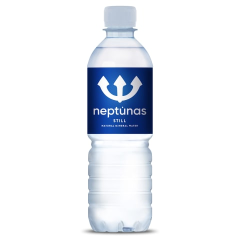 Mineralūdens Neptunas negāzēts 0,5l