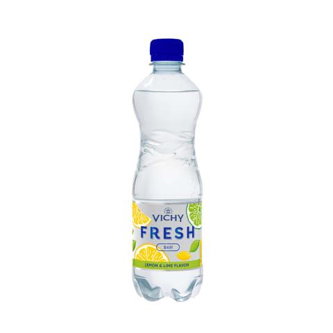 Dzeramais ūdens Vichy Fresh Lemon Lime 0,5l