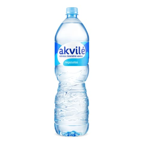 Negaz. natūr. mineralinis vanduo AKVILĖ, 1,5l
