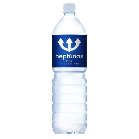 Negazuotas mineralinis vanduo NEPTŪNAS, 1,5l