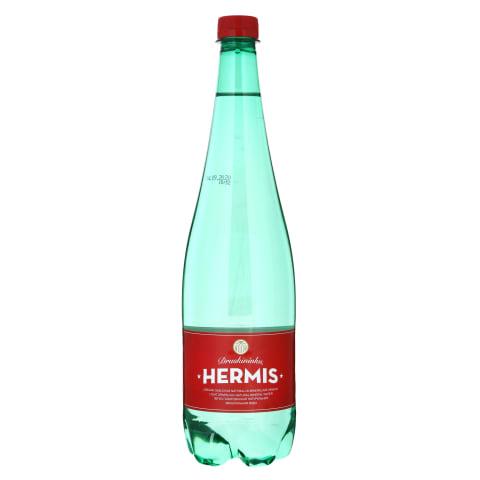 Lengvai gazuotas mineral. vanduo HERMIS, 1l