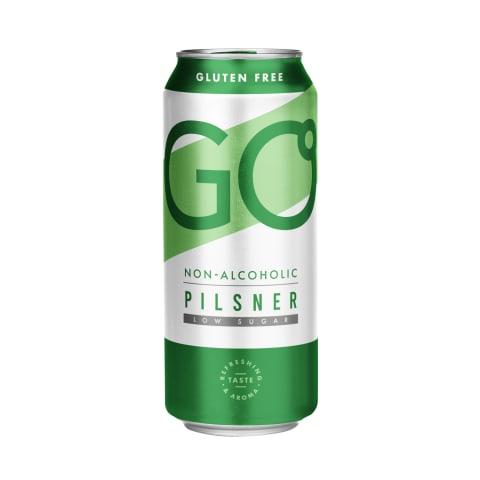 Alkoholivaba õlu GO Pilsner 0,5l