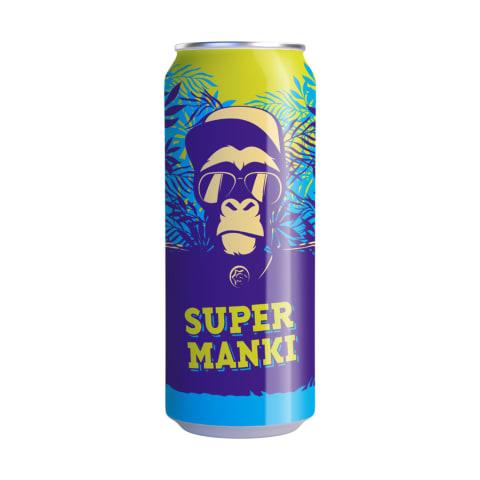 Dzēriens Super Manki gāzēts 0,33l