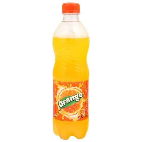 Gāzēts dzēriens Rimi ar apelsīnu garšu 0,5l