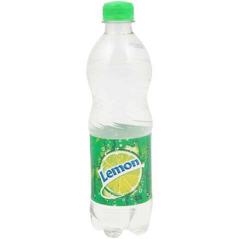 Gazuotas citrinų skonio gėrimas RIMI,0,5l