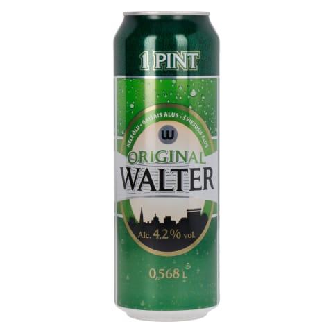 Õlu Walter Originaal 4,2%vol 0,568l prk