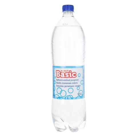 Joogivesi karboniseeritud Rimi Basic 1,5l