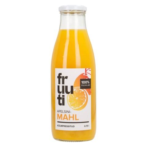 Apelsinimahl Fruuti 750ml
