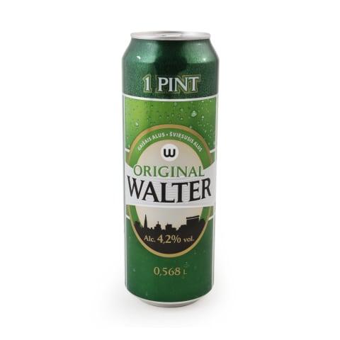 Šviesus. alus WALTER PINT, 4,2 %, 0,568l, sk.